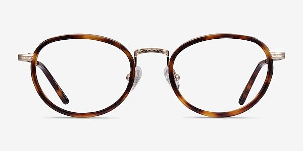 Myoko Tortoise Gold Acetate Eyeglass Frames