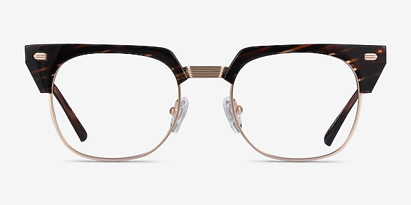 Nichibotsu Tortoise Gold Acetate Eyeglass Frames