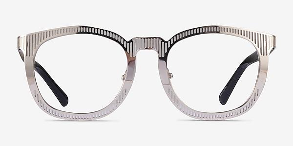 Wright Silver Acetate Eyeglass Frames