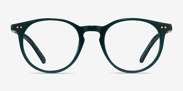 Volta Dark Green Acetate Eyeglass Frames