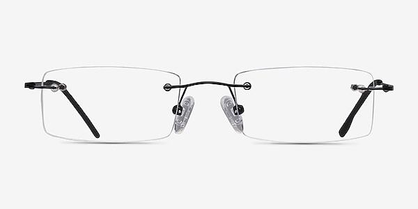 Billings Black Metal Eyeglass Frames