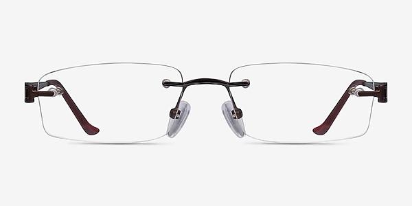 Ottawa Marron Métal Montures de lunettes de vue