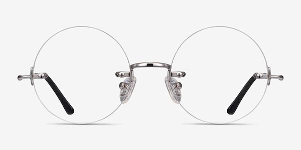 Palo Alto Argenté Métal Montures de lunettes de vue