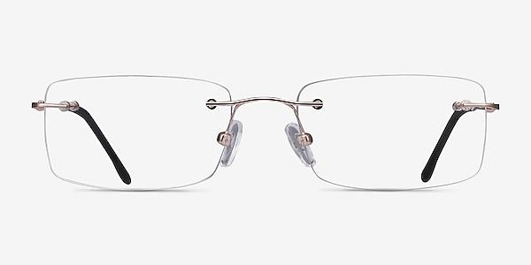 Woodrow  Golden  Metal Eyeglass Frames