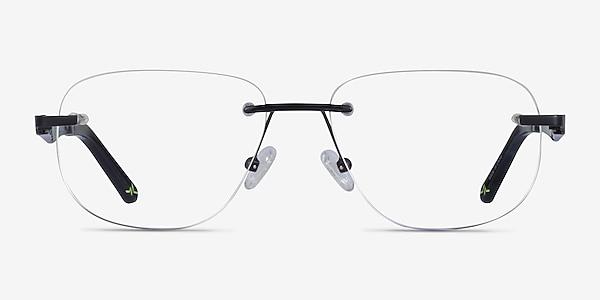 Reactor Noir Métal Montures de lunettes de vue