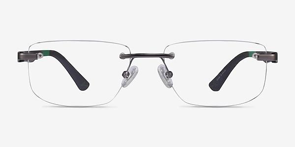 Turbine Matte Gunmetal Métal Montures de lunettes de vue