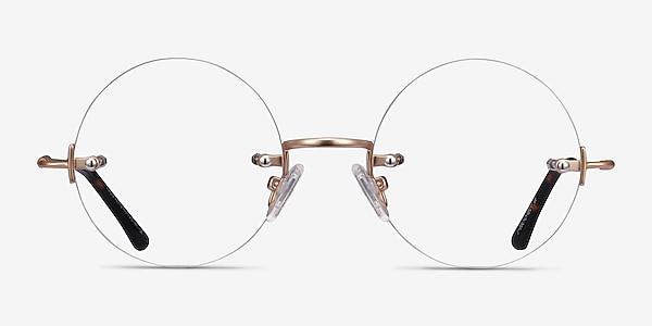 Palo Alto Golden Metal Eyeglass Frames