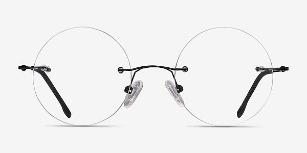 Altus Black Metal Eyeglass Frames