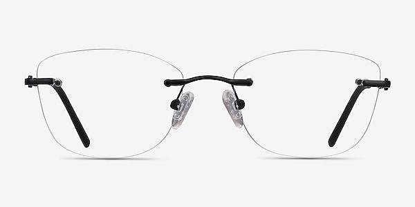 Vince Black Metal Eyeglass Frames