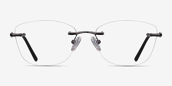 Vince Gunmetal Métal Montures de lunettes de vue
