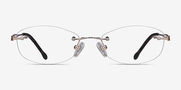 Create Gold Metal Eyeglass Frames