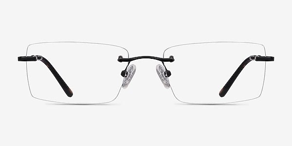 Enterprise Black Metal Eyeglass Frames