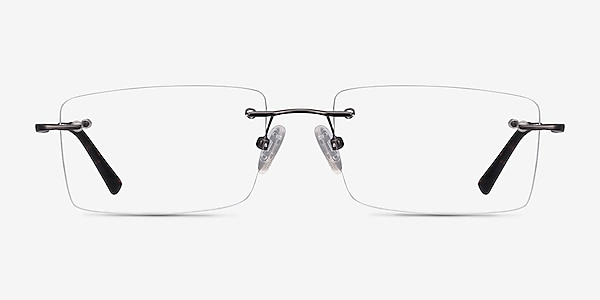 Evolve Gunmetal Metal Eyeglass Frames