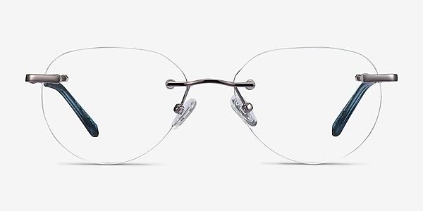 Feel Silver Metal Eyeglass Frames