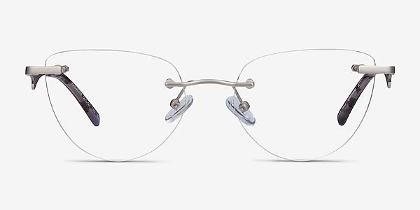 Harmony Matte Gunmetal Metal Eyeglass Frames