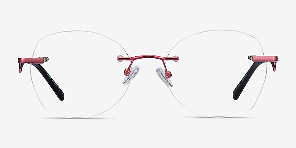 Ajar Raspberry Métal Montures de lunettes de vue