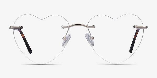 Bae Argenté Métal Montures de lunettes de vue