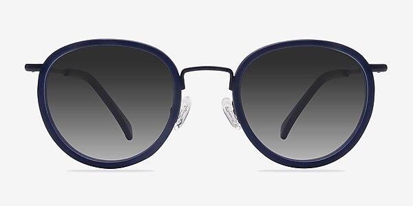Siena Matte Navy Acetate-metal Sunglass Frames