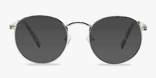 Rex Golden Metal Sunglass Frames