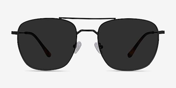 Seeker Black Metal Sunglass Frames