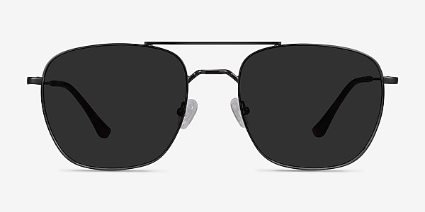 Seeker Gunmetal Metal Sunglass Frames