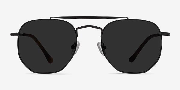 Venture Black Metal Sunglass Frames
