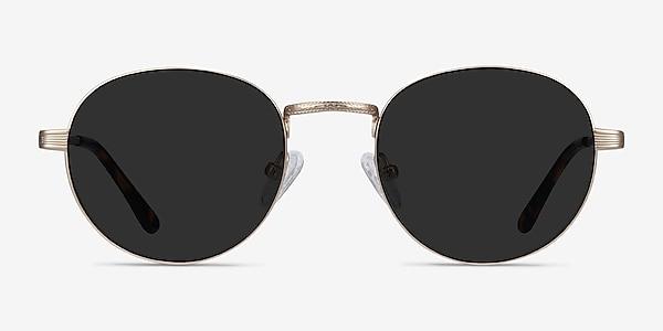 Sun Belleville Gold Metal Sunglass Frames