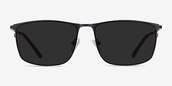 Sun Typha Navy Metal Sunglass Frames
