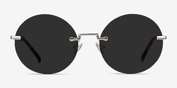 Wise Gold Metal Sunglass Frames