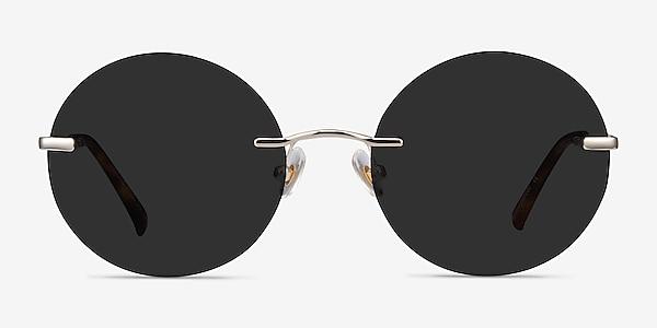 Chorus Light Gold Metal Sunglass Frames
