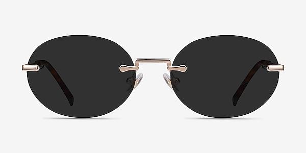 Daze Rose Gold Metal Sunglass Frames