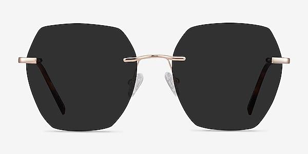 Genoa Rose Gold Metal Sunglass Frames