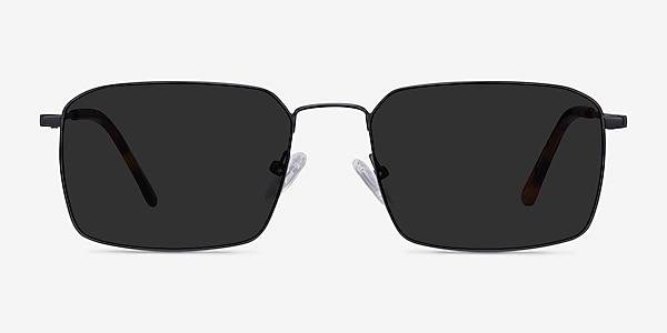 Edge Black Metal Sunglass Frames