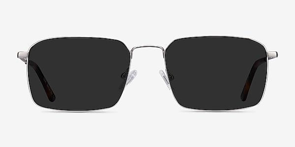 Edge Silver Metal Sunglass Frames
