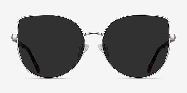 Bless Silver Metal Sunglass Frames