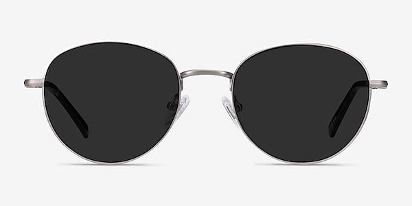 Span Gunmetal Acetate-metal Sunglass Frames