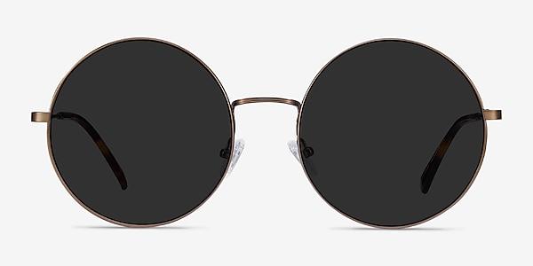 Teavee Bronze Metal Sunglass Frames