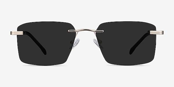 Invent Matte Gold Metal Sunglass Frames