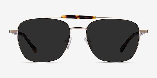 Jackson Gold Tortoise Acetate Sunglass Frames