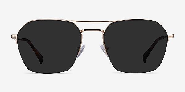 Decade Gold Metal Sunglass Frames