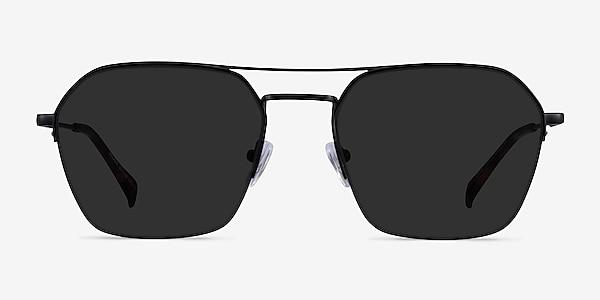 Decade Black Metal Sunglass Frames