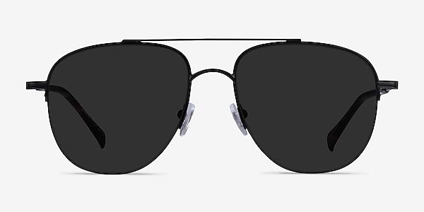 Garros Black Tortoise Metal Sunglass Frames