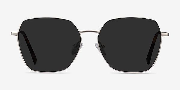 Ginza Silver Metal Sunglass Frames