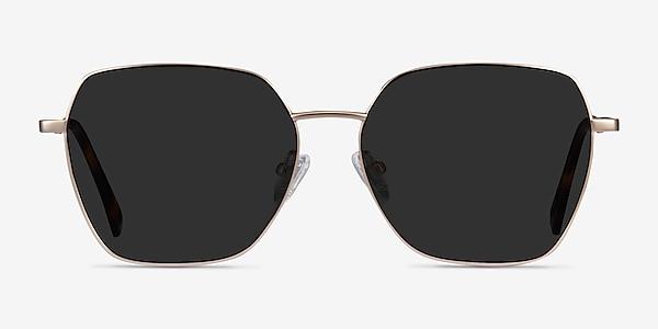 Ginza Gold Metal Sunglass Frames