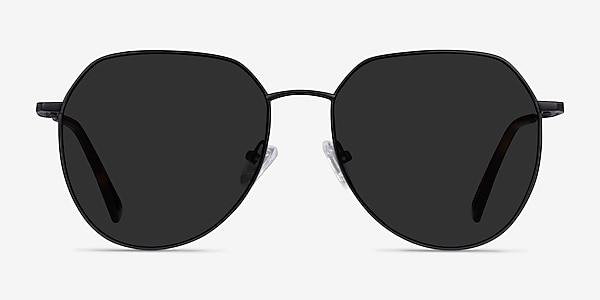 Carlsbad Black Metal Sunglass Frames