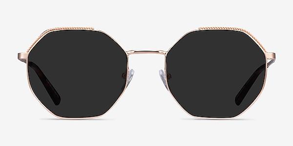 Elsa Rose Gold Metal Sunglass Frames