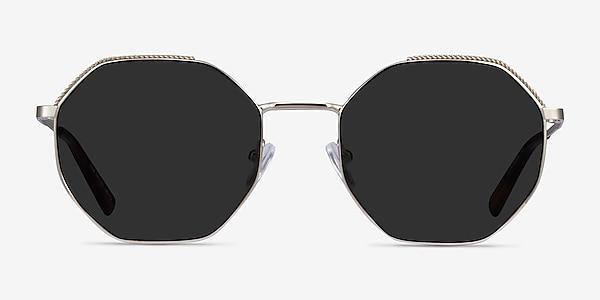 Elsa Silver Metal Sunglass Frames