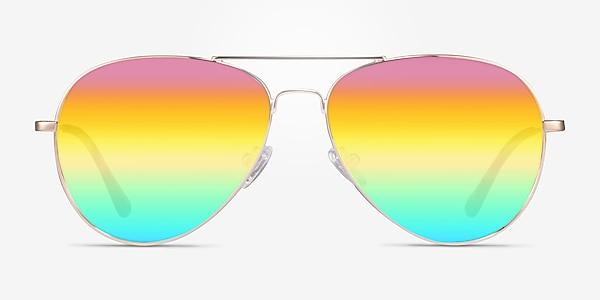 Haight Gold Metal Sunglass Frames