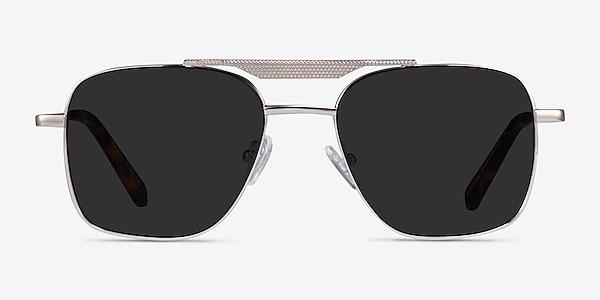 Eastman Silver Metal Sunglass Frames