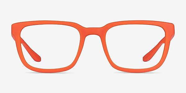 Fast Matte Orange Plastique Montures de lunettes de vue